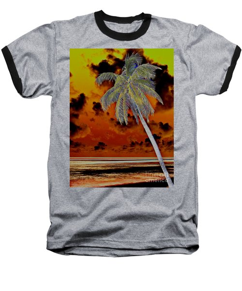 New Photographic Art Print For Sale Paradise Somewhere In The Bahamaramas Baseball T-Shirt