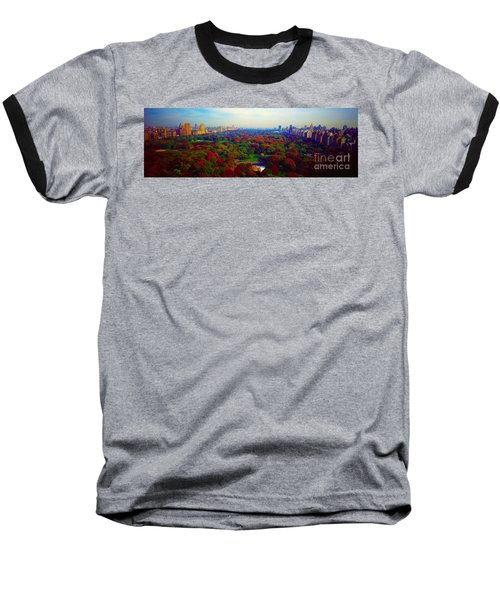 New York City Central Park South Baseball T-Shirt