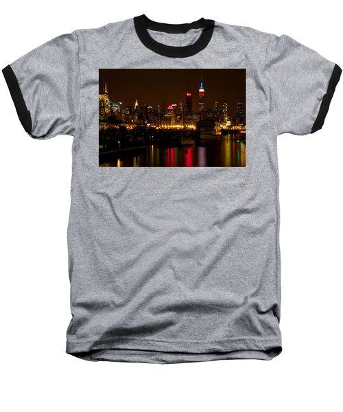 New York City Baseball T-Shirt by Dave Files