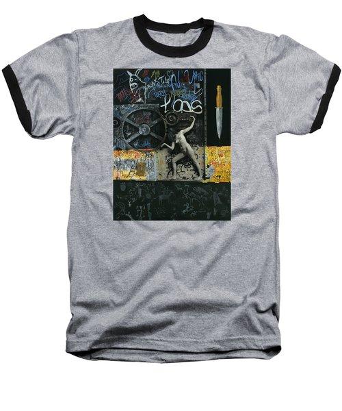New York City Baseball T-Shirt by Yelena Tylkina