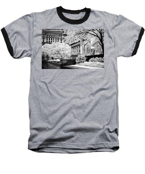 New York Public Library Ir Baseball T-Shirt
