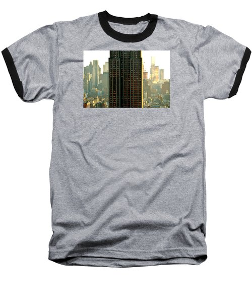 New York Scraper Baseball T-Shirt
