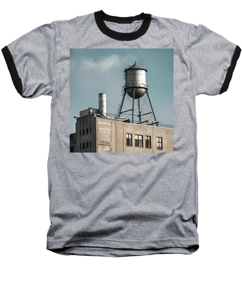 New York Water Towers 10 Baseball T-Shirt