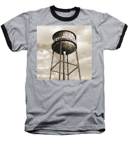 New York Water Towers 11 - Greenpoint Brooklyn Baseball T-Shirt