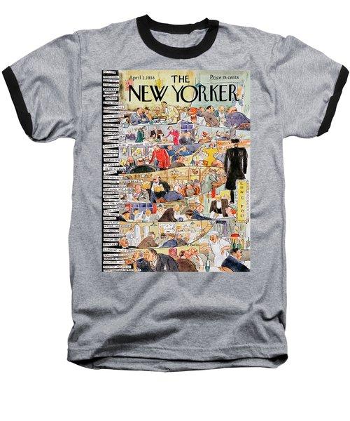 New Yorker April 2 1938 Baseball T-Shirt
