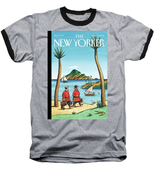 New Yorker April 21st, 2008 Baseball T-Shirt