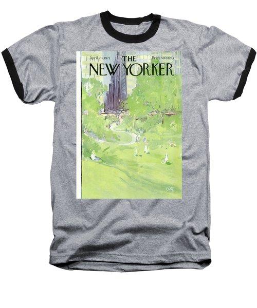 New Yorker April 24th, 1971 Baseball T-Shirt