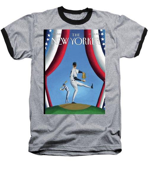 New Yorker April 2nd, 2001 Baseball T-Shirt