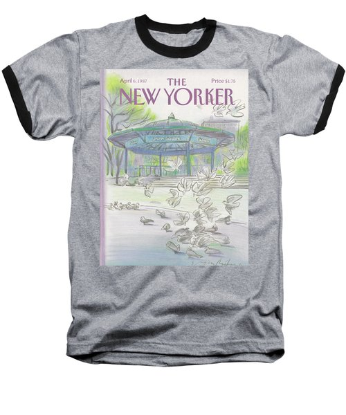 New Yorker April 6th, 1987 Baseball T-Shirt