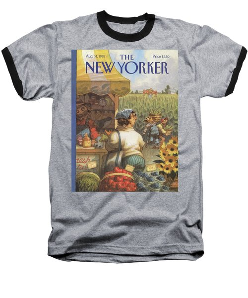 New Yorker August 14th, 1995 Baseball T-Shirt