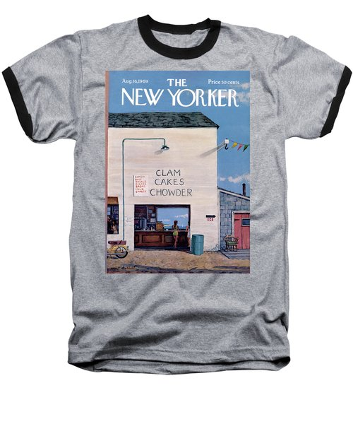 New Yorker August 16th, 1969 Baseball T-Shirt