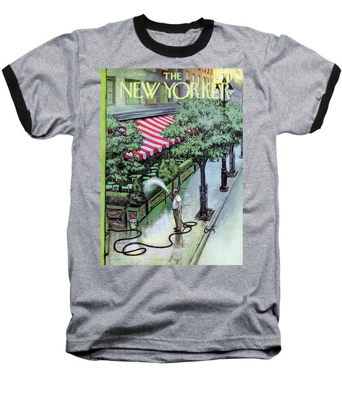 New Yorker August 27th, 1955 Baseball T-Shirt