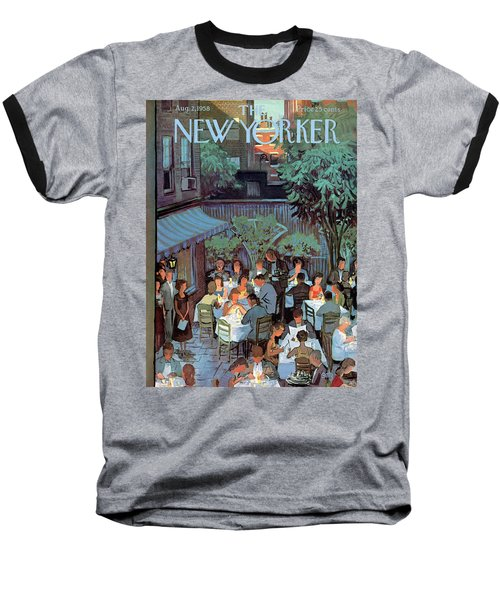 New Yorker August 2nd, 1958 Baseball T-Shirt