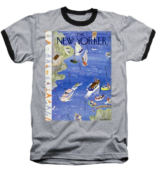 New Yorker August 3 1940 Baseball T-Shirt