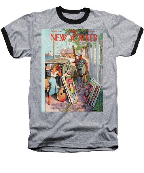 New Yorker August 30th, 1958 Baseball T-Shirt