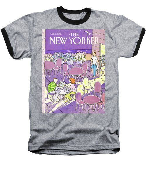 New Yorker August 3rd, 1992 Baseball T-Shirt