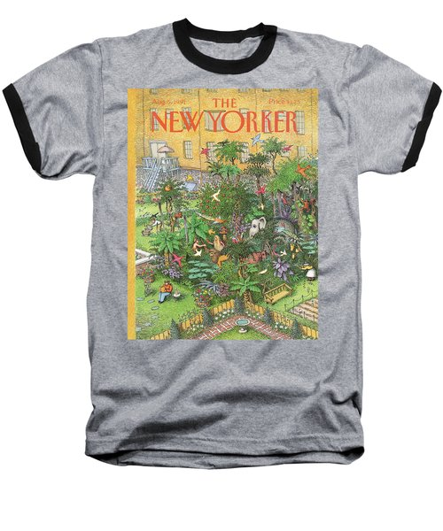 New Yorker August 5th, 1991 Baseball T-Shirt