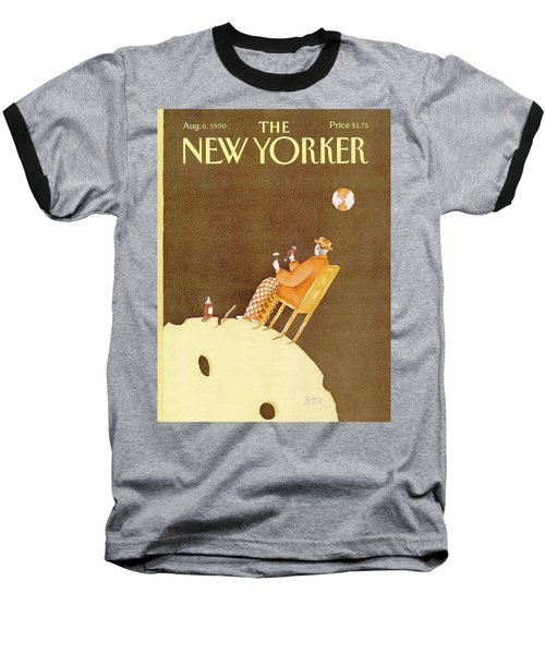 New Yorker August 6th, 1990 Baseball T-Shirt