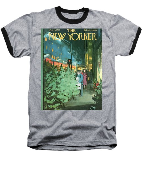 New Yorker December 14th, 1963 Baseball T-Shirt