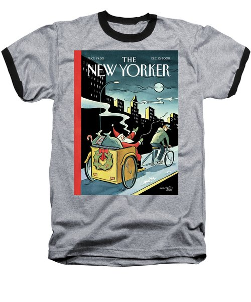 New Yorker December 15, 2008 Baseball T-Shirt