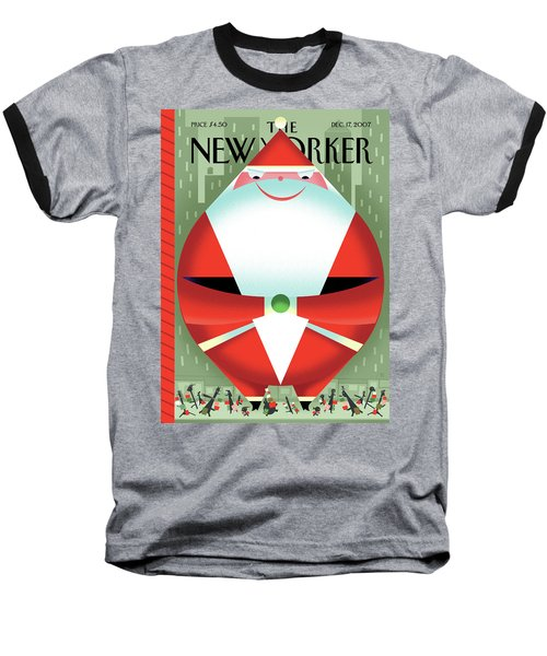 New Yorker December 17th, 2007 Baseball T-Shirt