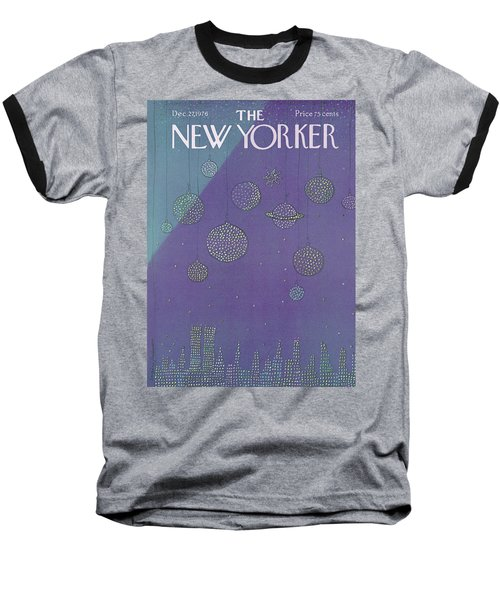 New Yorker December 27th, 1976 Baseball T-Shirt