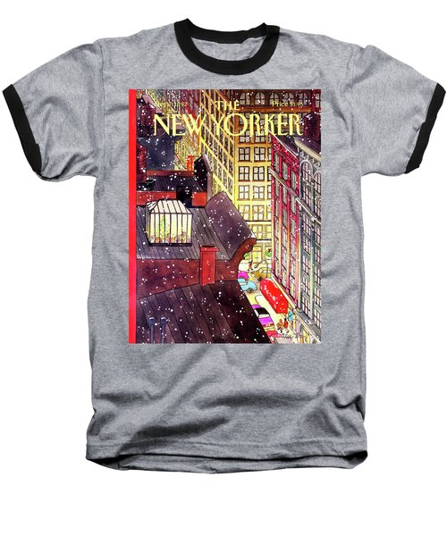 New Yorker December 7th, 1992 Baseball T-Shirt
