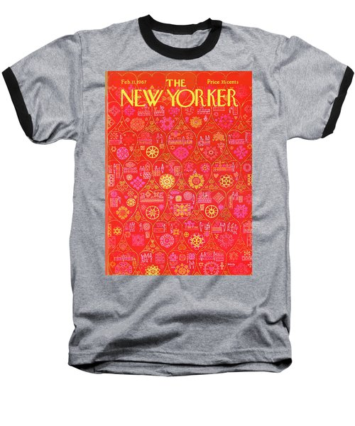 New Yorker February 11th, 1967 Baseball T-Shirt