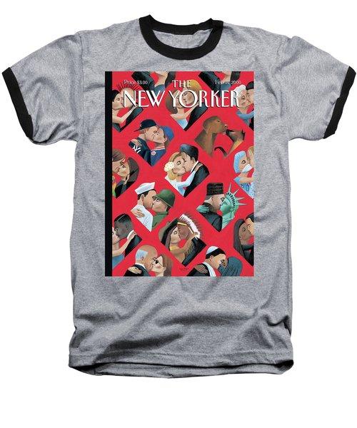 New Yorker February 14th, 2000 Baseball T-Shirt