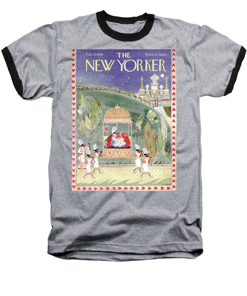 New Yorker February 15th, 1958 Baseball T-Shirt