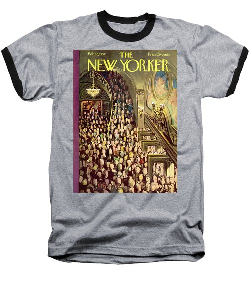 New Yorker February 16th, 1957 Baseball T-Shirt