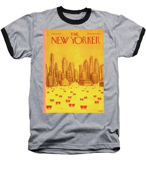 New Yorker February 18th, 1974 Baseball T-Shirt