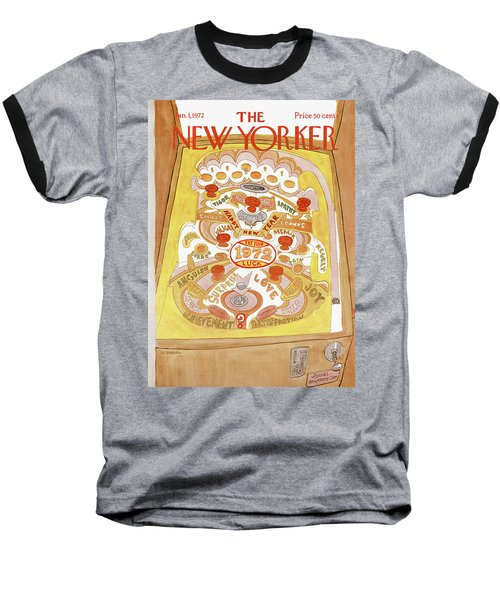 New Yorker January 1st, 1972 Baseball T-Shirt