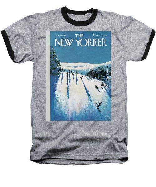 New Yorker January 20th, 1973 Baseball T-Shirt