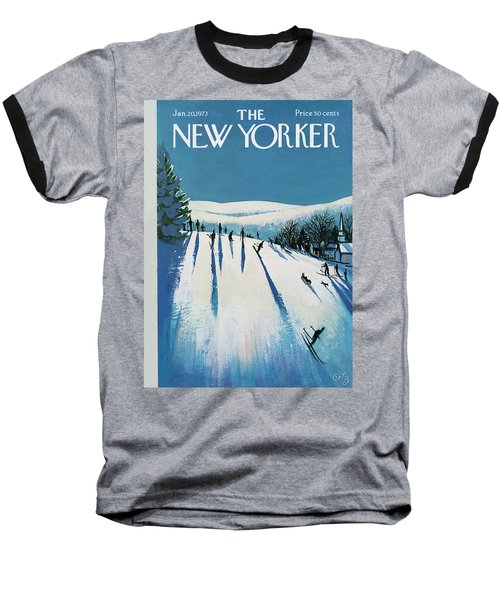 New Yorker January 20th, 1973 Baseball T-Shirt