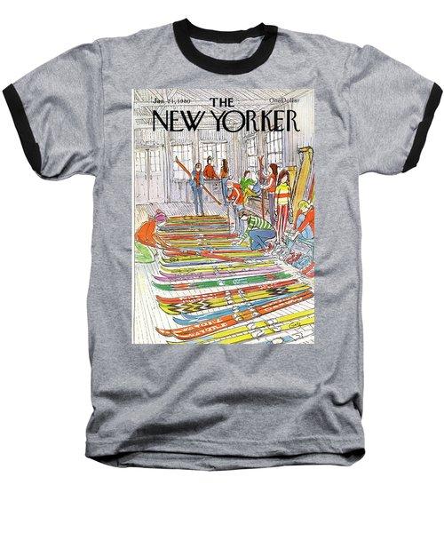 New Yorker January 21st, 1980 Baseball T-Shirt