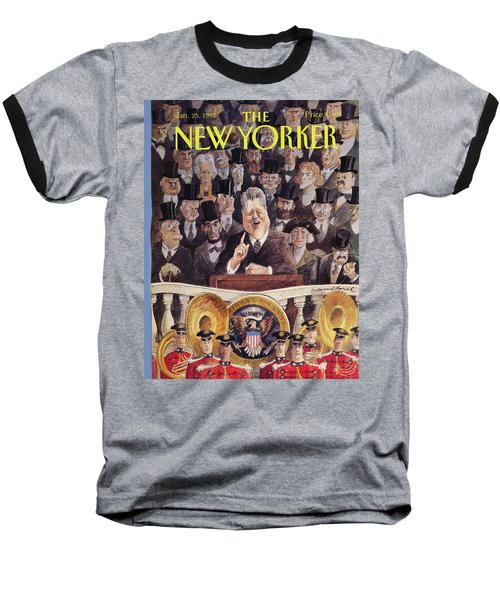 New Yorker January 25th, 1993 Baseball T-Shirt