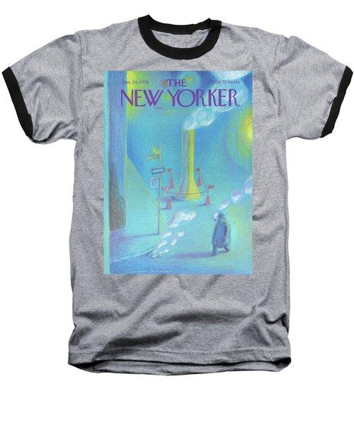 New Yorker January 26th, 1976 Baseball T-Shirt