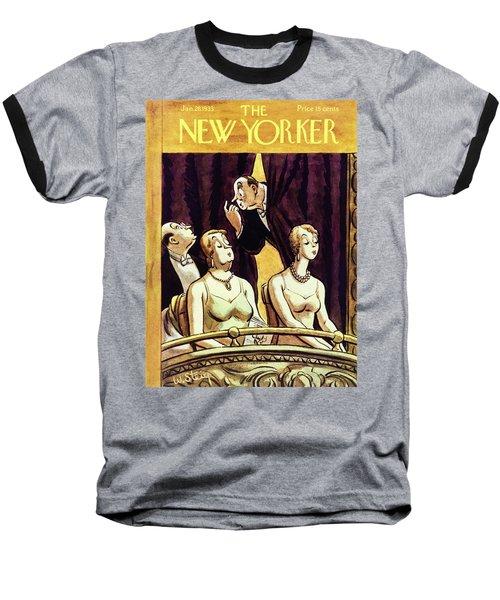 New Yorker January 28 1933 Baseball T-Shirt