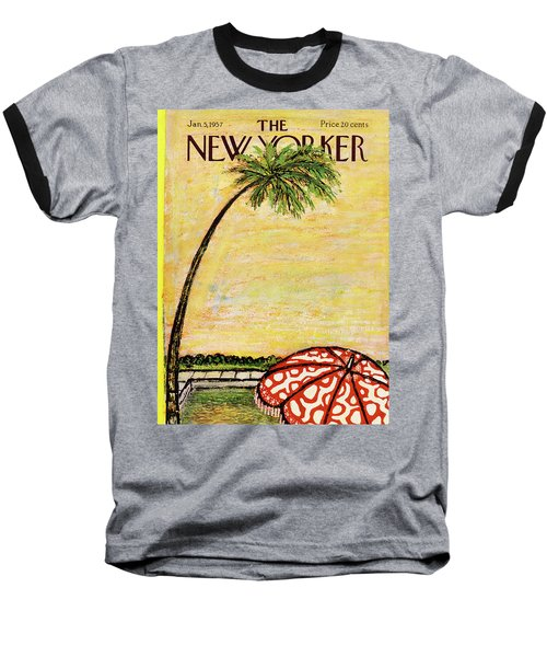 New Yorker January 5th, 1957 Baseball T-Shirt