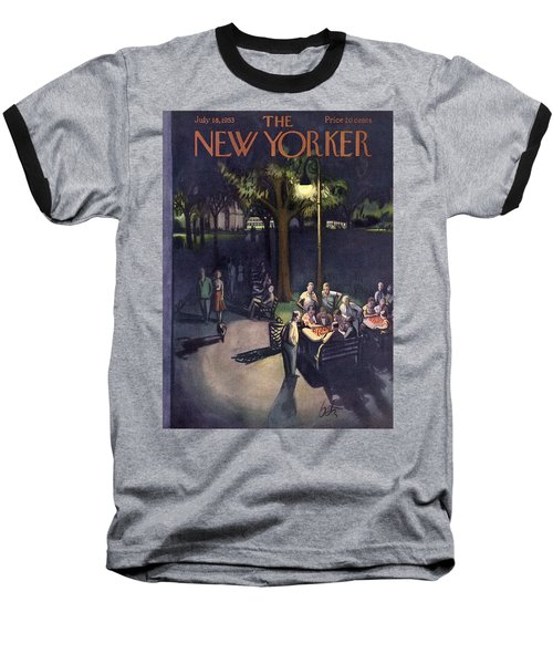 New Yorker July 18th, 1953 Baseball T-Shirt