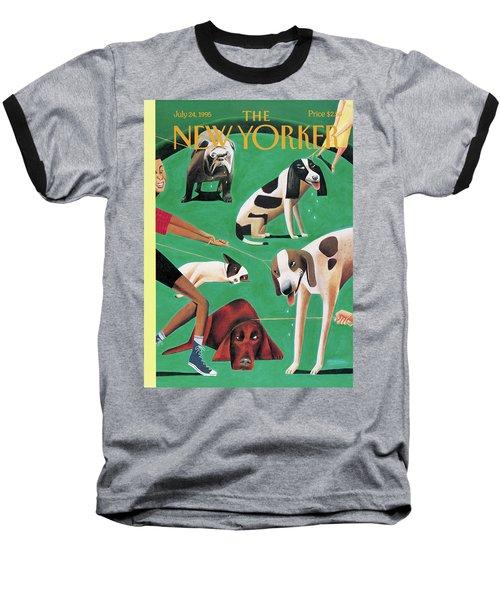 New Yorker July 24th, 1995 Baseball T-Shirt