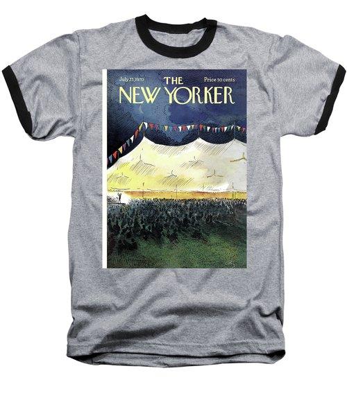 New Yorker July 25th, 1970 Baseball T-Shirt