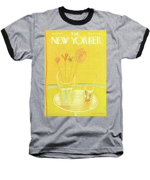 New Yorker July 26th, 1976 Baseball T-Shirt