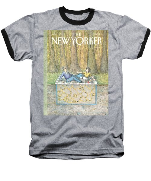 New Yorker June 15th, 1992 Baseball T-Shirt