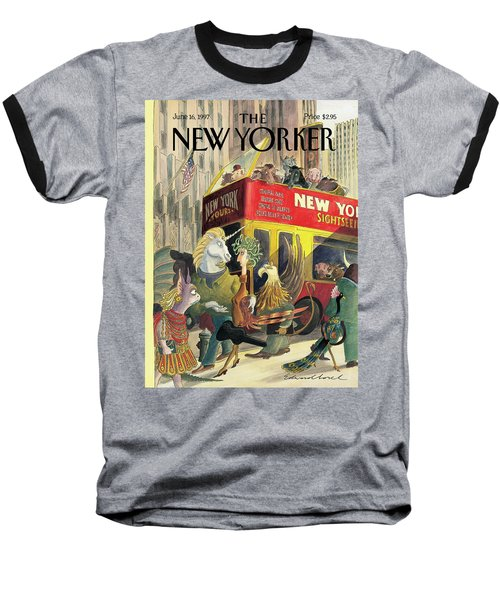 New Yorker June 16th, 1997 Baseball T-Shirt