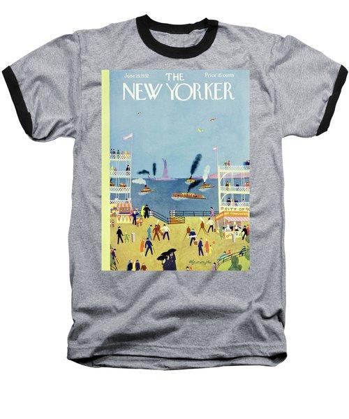 New Yorker June 25 1932 Baseball T-Shirt