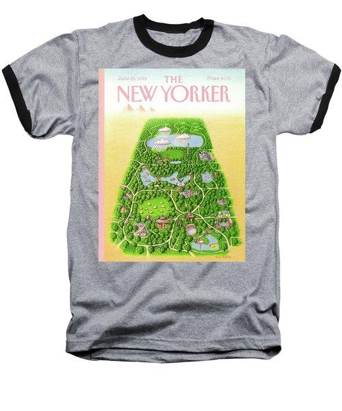 New Yorker June 25th, 1990 Baseball T-Shirt