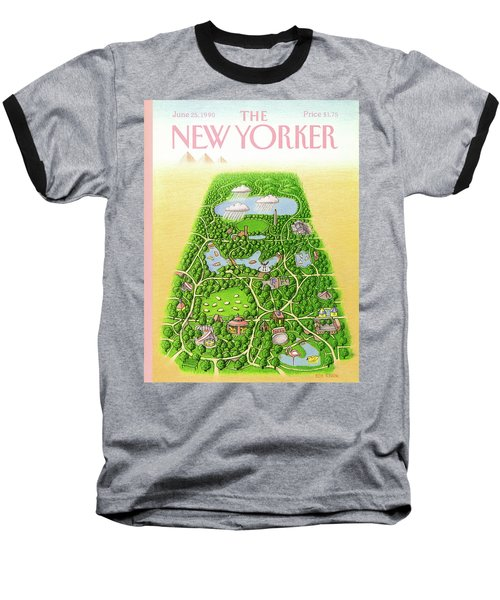 New Yorker June 25th, 1990 Baseball T-Shirt