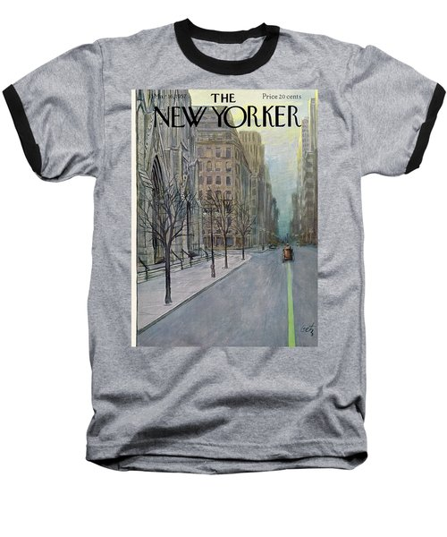 New Yorker March 16th, 1957 Baseball T-Shirt